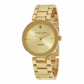 Anne Klein 1362CHGB  Ladies Quartz Watch