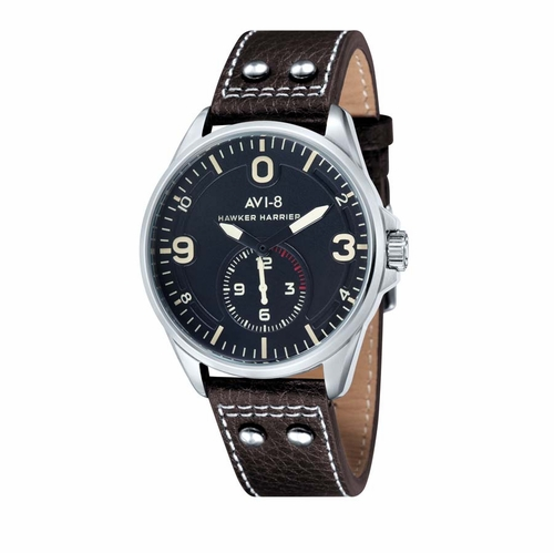 AVI-8 Hawker Harrier II Black Dial Mens Quartz Watch