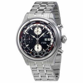 Ball CM2052D-SJ-BK Trainmaster World Time GMT Mens Chronograph Automatic Watch
