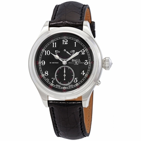 Ball NM2058D-LJ-BK Trainmaster 21st Century Mens Hand Wind Watch