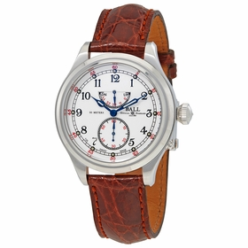 Ball NM2058DLJWH Trainmaster 21st Century Mens Hand Wind Watch