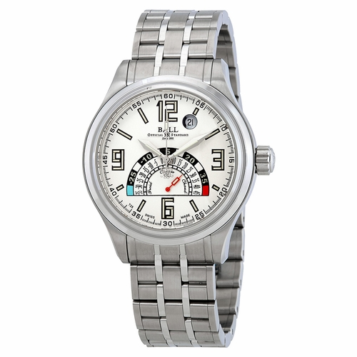 Ball Trainmaster TMT Celcius Automatic Silver Dial Men's Watch