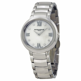 Baume et Mercier A10158 Promesse Ladies Quartz Watch