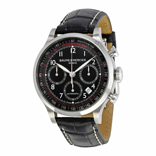 Baume et Mercier 10084 Capeland Mens Chronograph Automatic Watch