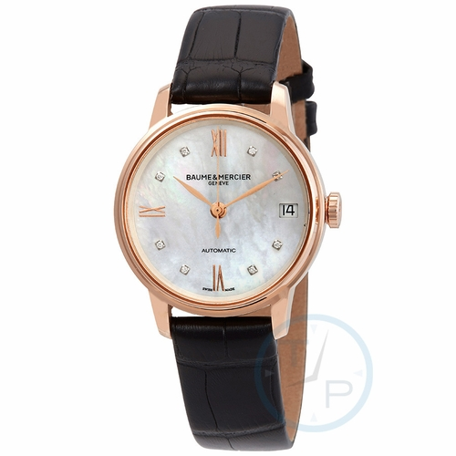 Baume et Mercier MOA10286 Classima Executives Ladies Automatic Watch