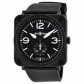 Bell and Ross BLRBRS-BL Aviation Mens Quartz Watch