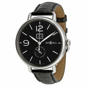 Bell and Ross BLRBRWW190-BL-ST/SCR Vintage Mens Automatic Watch