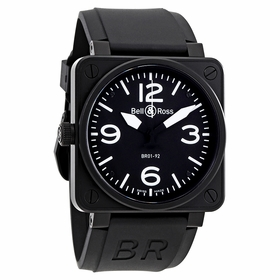 Bell and Ross BR01-92-SL Aviation BR01-92-Carbon Mens Automatic Watch