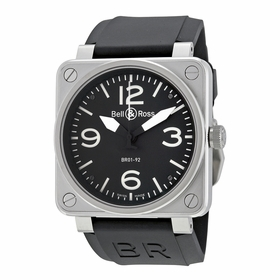 Bell and Ross BR0192-BL-ST Aviation Mens Automatic Watch