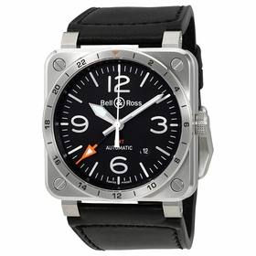 Bell and Ross BR03-93-GMT Aviation Mens Automatic Watch