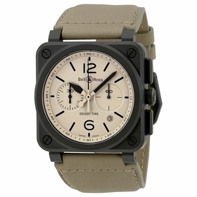 Bell and Ross BR03-94-DESERT TYPE Chronograph Automatic Watch