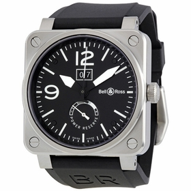 Bell and Ross BR0390-BL-ST Aviation Mens Automatic Watch