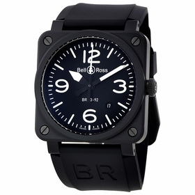 Bell and Ross BR0392-BL-CE Aviation Mens Automatic Watch