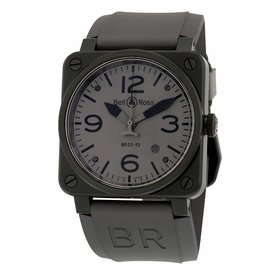 Bell and Ross BR0392-COMMANDO Aviation Mens Automatic Watch