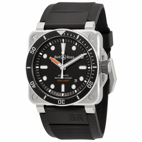 Bell and Ross BR0392-D-BL-ST/SRB Diver Mens Automatic Watch