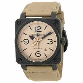 Bell and Ross BR0392-DESERT-CE Aviation Mens Automatic Watch