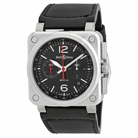 Bell and Ross BR0394-BLC-ST/SCA Chronograph Automatic Watch