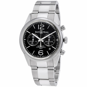 Bell and Ross BRG126-BL-ST/SST Chronograph Automatic Watch