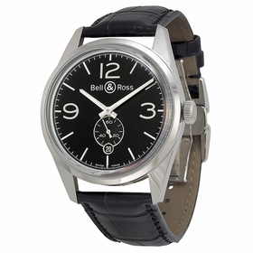Bell and Ross BRG123-BL-ST-SCR Vintage Mens Automatic Watch
