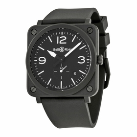 Bell and Ross BRS-BL-CEM Aviation Mens Quartz Watch