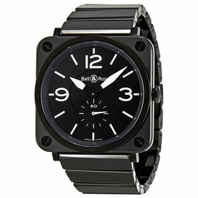Bell and Ross BRS-BL-CERAMIC/SCE Aviation Unisex Quartz Watch
