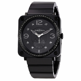 Bell and Ross BRS-BLC-PH-LGD/SCE Aviation Unisex Quartz Watch