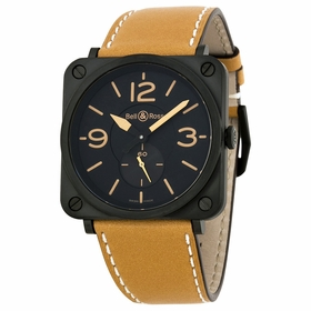 Bell and Ross BRS-HERITAGE/SCA Aviation Mens Quartz Watch