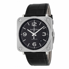 Bell and Ross BRS92-BL-ST Aviation Mens Automatic Watch