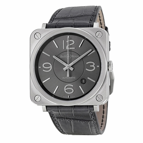Bell and Ross BRS92-RU-ST/SCR Officer Mens Automatic Watch