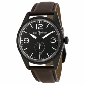 Bell and Ross BRV 123-BL-CA/SCA Vintage Mens Automatic Watch