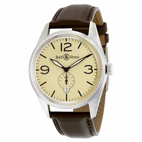Bell and Ross BRV123-BEI-ST-SCA Vintage Mens Automatic Watch