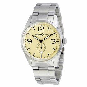 Bell and Ross BRV123-BEI-ST/SST Vintage Mens Automatic Watch