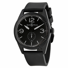 Bell and Ross BRV123-BL-CA/SRB Vintage Mens Automatic Watch