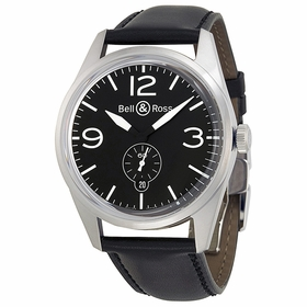 Bell and Ross BRV123-BL-ST-SCA Vintage Mens Automatic Watch