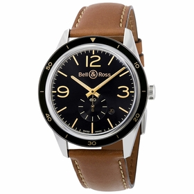 Bell and Ross BRV123-GH-ST/SCA Heritage Mens Automatic Watch