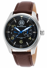 Ben and Sons BS-10010-01 Marshall Mens Quartz Watch