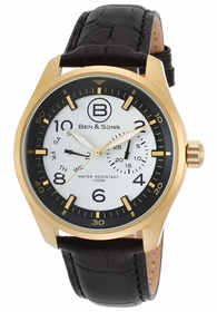 Ben and Sons BS-10010-AN-02S Marshall Mens Quartz Watch