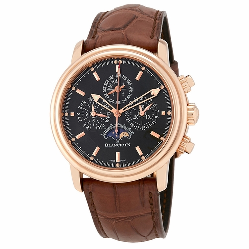 Blancpain 2685F-3630-53B Leman Mens Automatic Watch