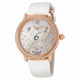 Blancpain 3650A-3754-58B Heure Decentree Ladies Automatic Watch