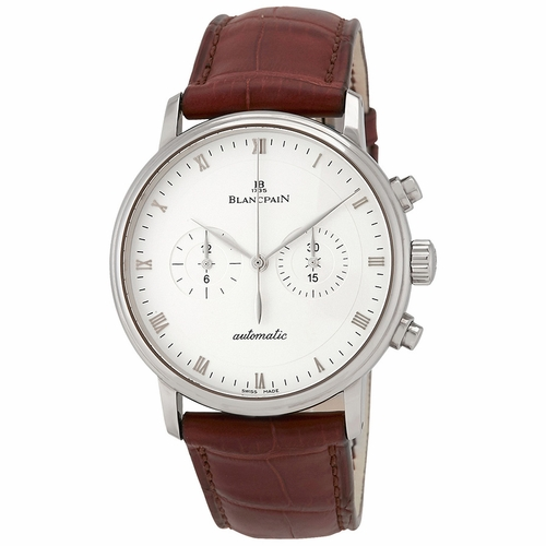 Blancpain 4082-1542A-55B Villeret Mens Chronograph Automatic Watch