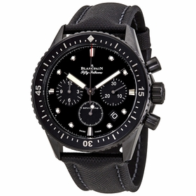 Blancpain 5200-0130-B52A Fifty Fathoms Bathyscaphe Mens Chronograph Automatic Watch