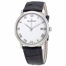 Blancpain 6630-1531-55B Villeret 8 Days Mens Automatic Watch