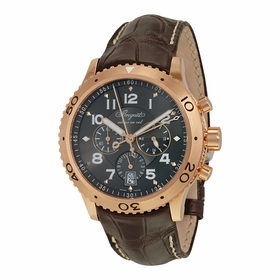 Breguet 3810BR929ZU Transatlantique Mens Chronograph Automatic Watch