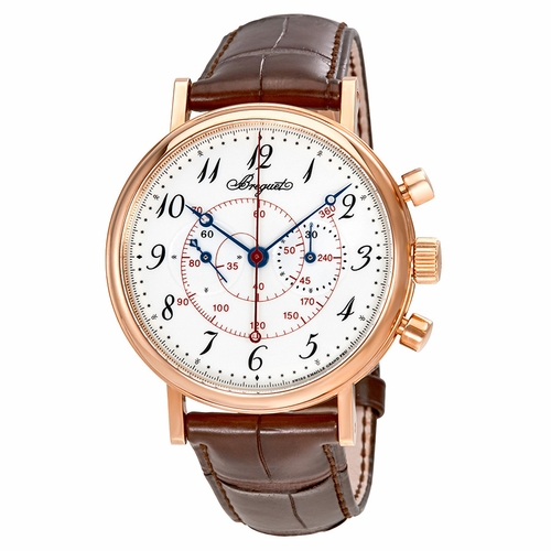 Breguet 5247BR/29/9V6 Classique Mens Chronograph Hand Wind Watch