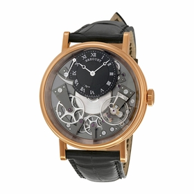 Breguet 7057BR/G9/9W6 Tradition Mens Hand Wind Watch