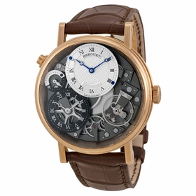 Breguet 7067BRG19W6 Tradition GMT Mens Hand Wind Watch