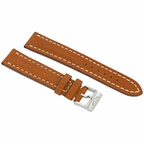 Breitling 20/18 MM Brown Leather Strap 425X-A18BA
