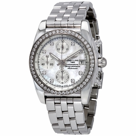 Breitling A1331053-A776-385A Chronomat 38 Diamondworks Ladies Chronograph Automatic Watch