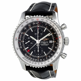 Breitling A2432212-B726-761P-A20D.1 Navitimer World Mens Chronograph Automatic Watch