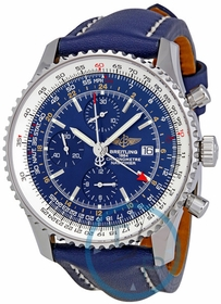 Breitling A2432212-C561-101X-A20BA.1 Navitimer World Mens Chronograph Automatic Watch